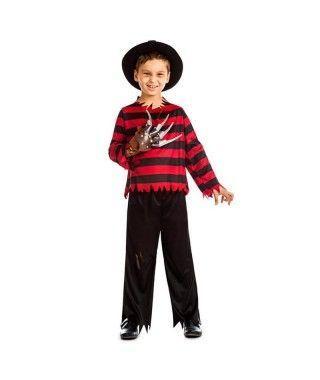 Disfraz Freddy Krueger para niño K43920