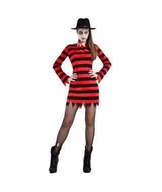 Disfraz Freddy Kueger Mujer