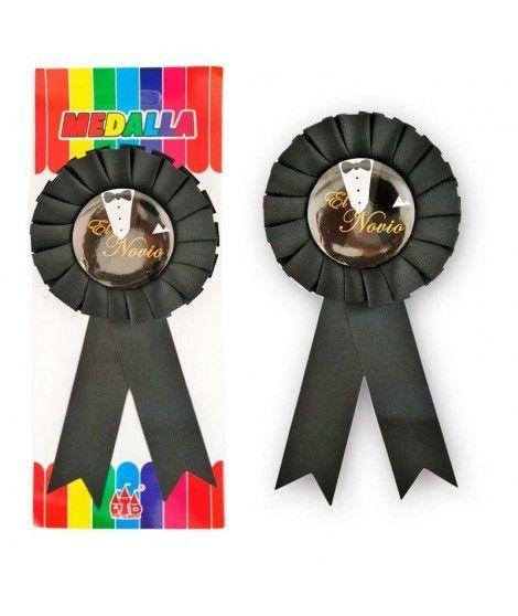 """Medalla Broche """"El Novio"""" Regalo"""
