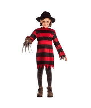 Disfraz Freddy Krueger para niña