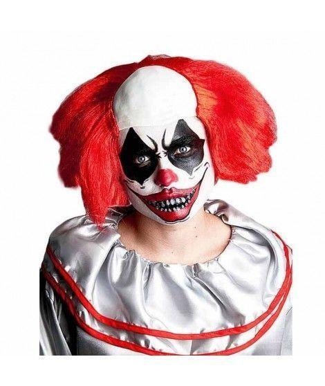Peluca de Payaso Loco Accesorio de Halloween
