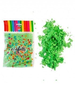 Micro Confetti Verde (50 g) Decoración y Fiestas