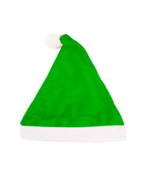 Gorro Navidad Papá Noel Verde