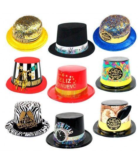 Pack Sombreros Año Nuevo (10 uds) c887857eb73