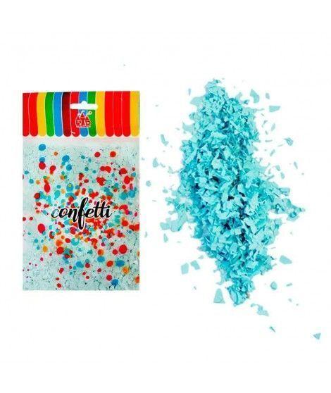 Micro Confetti Azul claro (50 g) Decoración y Fiestas