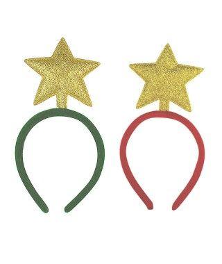 Diadema Navideña Estrella del Árbol