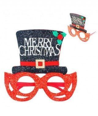 Gafas Navideñas Chistera Merry Xmas Fieltro