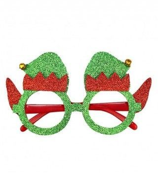 Gafas Navideñas Elfo Duende Fieltro
