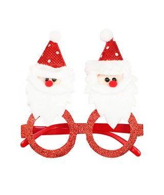 Gafas Navideñas Noel Fieltro