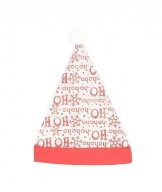 Gorro Papá Noel Print Ho Ho Ho