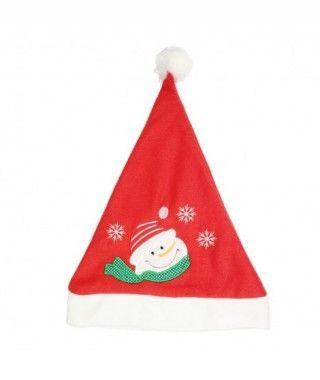 Gorro Papá Noel Snowman bordado