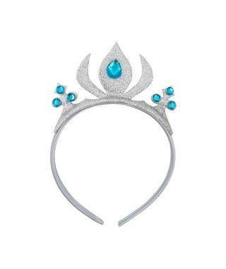 Corona Princesa Plata Llama