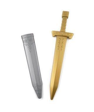 Espada Caballero Medieval Funda Gris