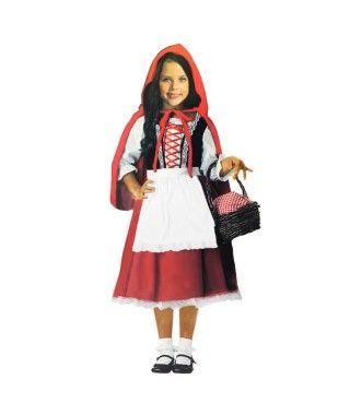 Disfraz Caperucita Roja niña infantil para Carnaval
