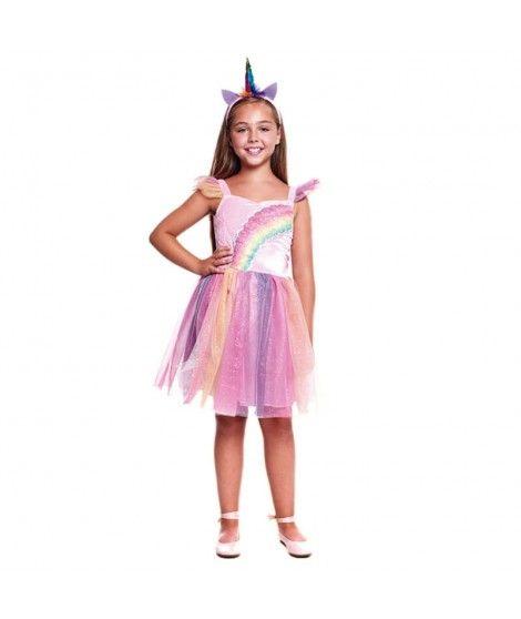 Disfraz Unicornio Rainbow para niña