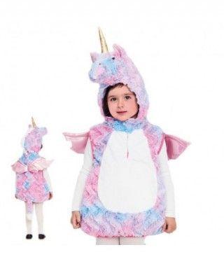 Disfraz Unicornio Multicolor Bebé