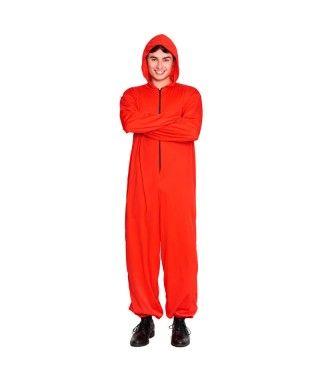 Disfraz Mono Rojo Unisex