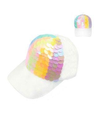 Gorra Escamas Sirena Rainbow