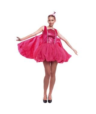 Disfraz Flamenco Rosa Pretty Mujer