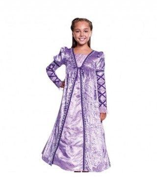 Disfraz Princesa Medieval Lila Niña