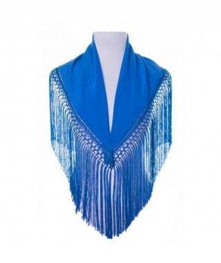 Mantón Azul infantil (120 cm x 45 cm) Accesorio Baile