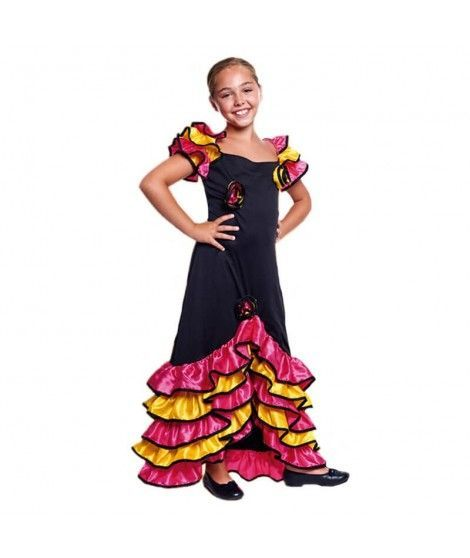 Disfraz Rumbera Folclórica Niña