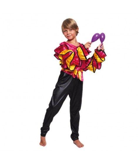 Disfraz Rumbero Fucsia Niño