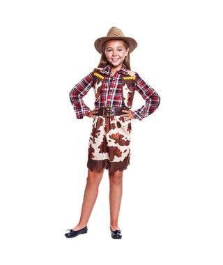 Disfraz Vaquera Cowgirl Niña
