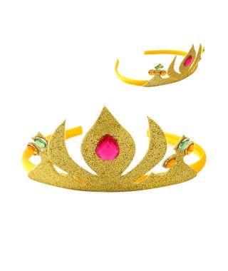 Corona Princesa Oro Llama