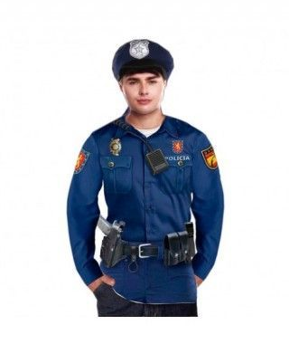 Camiseta Policía Hombre Print