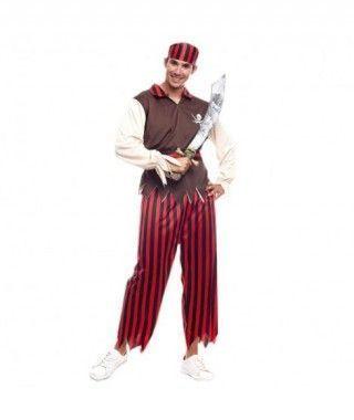 Disfraz Pirata Caribe Hombre