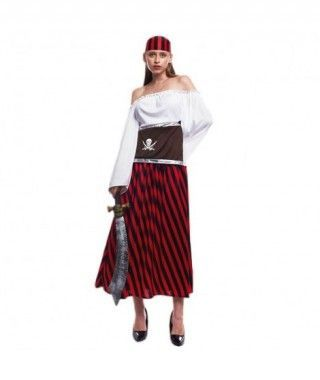 Disfraz Pirata Caribe Mujer