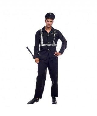 Disfraz Agente Policía Hombre