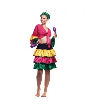 Disfraz Brasileña Mujer