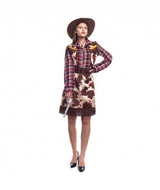 Disfraz Vaquera Cowgirl Mujer