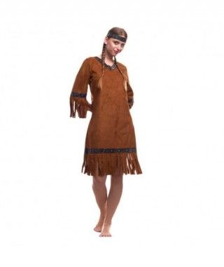 Disfraz India del Oeste Mujer