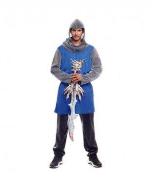 Disfraz Caballero Medieval Azul Hombre