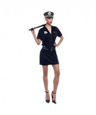 Disfraz Policía Agente Mujer