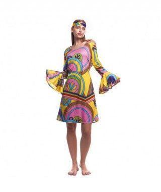 Disfraz Hippie Girl Mujer