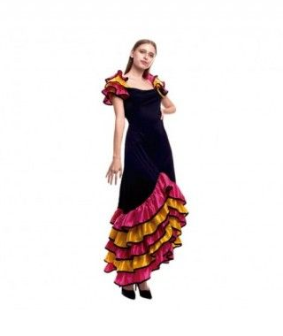 Disfraz Rumbera Folclore Mujer