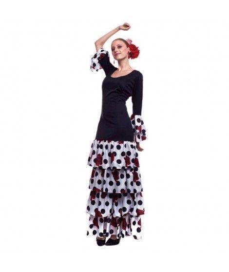 Disfraz Sevillana Rosana Mujer