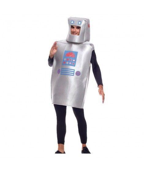 Disfraz Robot Retro Hombre Original Carnaval