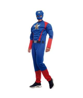 Disfraz Superhéroe Star Hombre