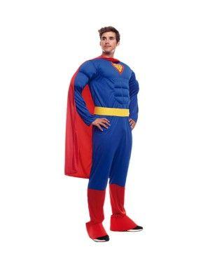 Disfraz Superhéroe Capa Hombre