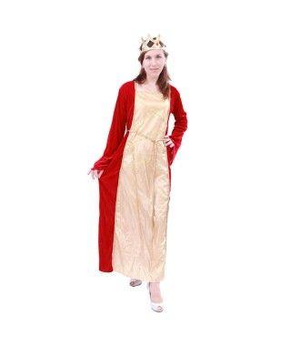 Disfraz Mujer Reina Renacentista