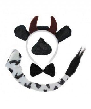 Conjunto Disfraz Vaca 4 pcs
