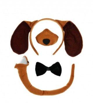 Conjunto Disfraz Perro 4 pcs