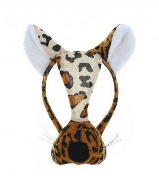 Diadema Leopardo con Nariz
