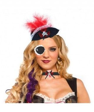 Set Pirata Sexy Tocado...