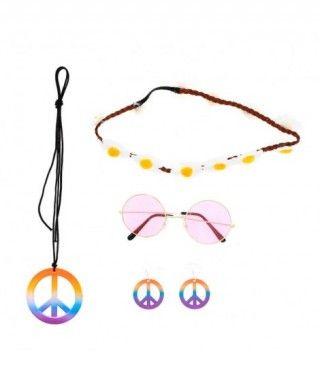 Set Disfraz Hippie (4 pcs)